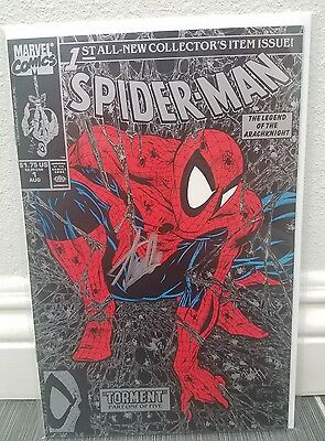 Spider-man 1 Todd McFarlane Signed Stan Lee NM Cgc Ready Coa Venom Marvel RARE 2