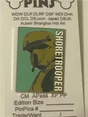 2016 Disney Star Wars: Rogue One Reveal Conceal Mystery Shoretrooper Pin 118104