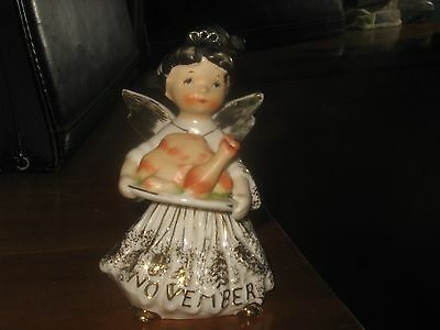 Beautiful Vintage Rare November Girl Angel 1987J