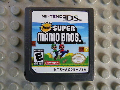 New Super Mario Bros. (Nintendo DS, 2006) Game Cartridge Only