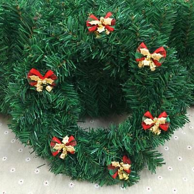 6 Bow Christmas Tree Decoration Hanging Ornament Bowknot Xmas Party Home Decor S