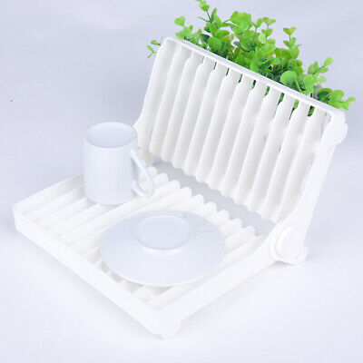 Mini Folding Dish Drainer Caravan Camping Rv Boat Kitchen Travel