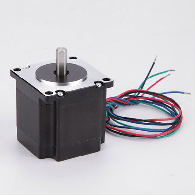 4Lead 3D Printer 1Pcs Bipolar Stepper Motor Nema 23 54mm 184oz.in(1.3N.m) 3.5A