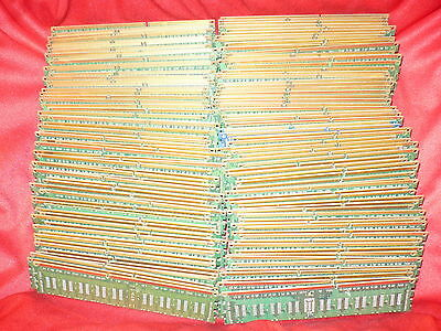 Lot of 3.95Lbs Computer Memory PC Boards w/o IC chips for Scrap Gold Recovery