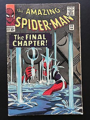 The Amazing Spider-Man #33 - SD Final Chapter Doc App. Stan Lee ASM Spidey