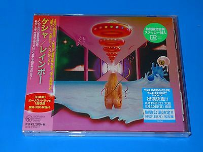 2017 JAPAN KESHA RAINBOW CD w/BONUS TRACK+FIRST PRESS STICKER