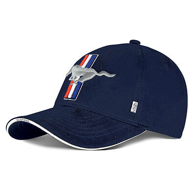 Genuine Ford Mustang In Navy Blue Baseball Cap Hat 35021766