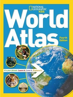 World Atlas, 4th edition (National Geographic Kids) (Paperback), . 9781426314032