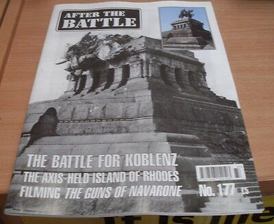 After the Battle magazine #177 2017 The Battle for Koblenz + Axis-Held Rhodes