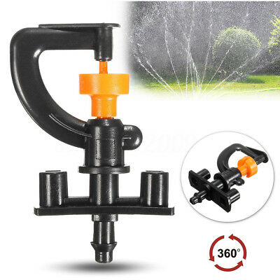 Mini 360° Irrigation Sprayer Nozzle Watering Sprinkler System for Yard Garden