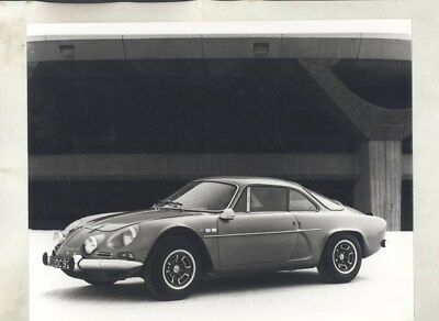 1972 ? Renault Alpine A110 1600 SC ORIGINAL Factory Photograph wy2459