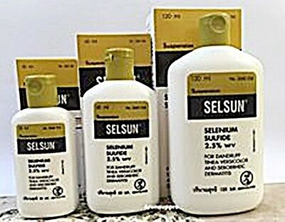 SELSUN ANTIi DANDRUFF SHAMPOO ITCHY SCALP SELENIUM SULFIDE CHOOSE YOUR SIZE