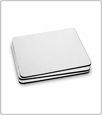 BLANK SUBLIMATION MOUSE MATS FOR PRINTING 180x220x5mm PACKS OF 5 10 25 50 & 100