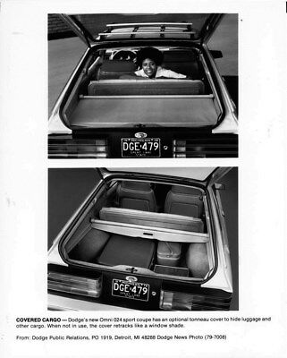 1979 Dodge Omni 024 Sport Coupe ORIGINAL Factory Photo oub6671