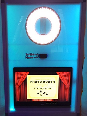 Complete LED Photo Booth Business! Booth, Touch Screen, Camera, Laptop, Software