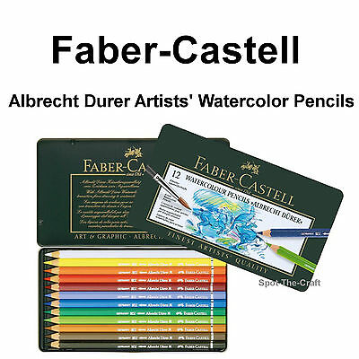 Faber-Castell ~ Albrecht Durer Artists' Watercolor Pencil Set ~ 12 pc ~ #117512