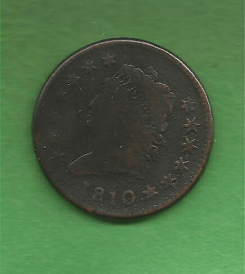 1810 Classic Head Large Cent - 207 Years Old!!