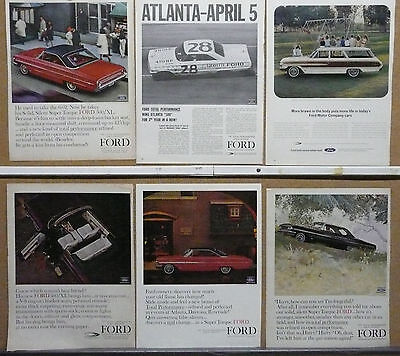 1964 Ford Galaxie 500 Ad Lot (6)