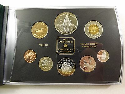 1998 RCM Proof Sterling Silver Set 1.69ozT Silver RCMP GRC 125 Years COA Pkg C45