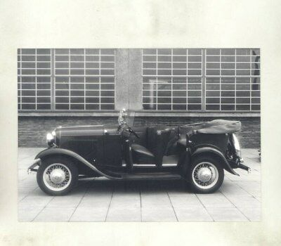 1932 1933 Ford Germany Model B Phaeton ORIGINAL Factory Photograph wy3850