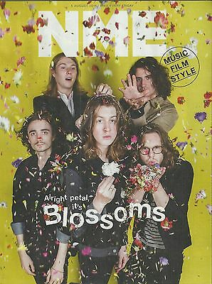 NME Magazine - 8 August 2016 Blossoms Cover/Harley Quinn/Band of Horses