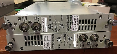 Lot of 2 HP Hewlett Packard 41421B Source/Monitor Units, Used