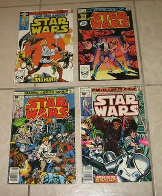 70s MARVEL STAR WARS COMICS # 2 # 3 AND KING SIZE ANNUAL # 1 # 2 NICE LOT