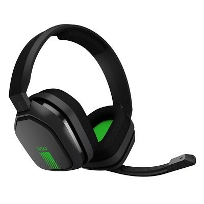Astro A10 Gaming Headset (Grey/Green) Xbox One PS4 and Mobile - Brand New!