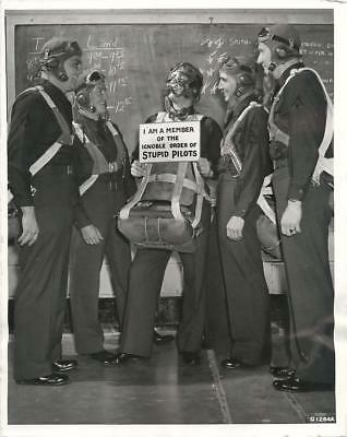 "WWII Cadet Voted into ""Ignoble Order of Stupid Pilots at Randolph Field Photo"
