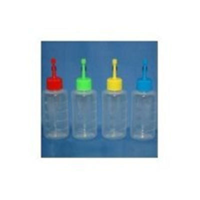 Round Plastic 500-85ml Semen Bottles Red Artificial Insemination Breeding Swine