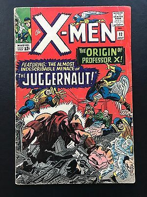 The X-Men #12 Collection Uncanny 1st appearance Juggernaut! Key Issue Stan Lee