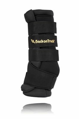 """BACK ON TRACK Horse Quick Wrap Heat Therapy Relieves Aches Pains Pair 16"""""""