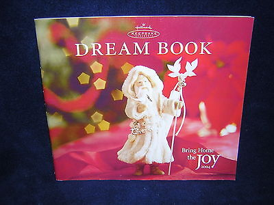 Hallmark Keepsake Dream Book Catalog 2004 Very Good Condition