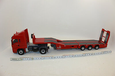 Siku Control RC 6721 Man with Low Loader 1:3 2 New Boxed Complete Set