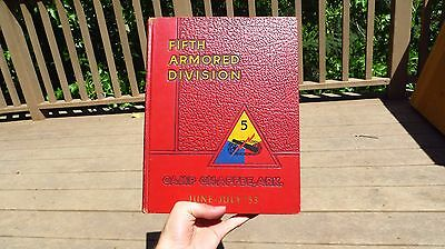 5th Fifth Armored Division Camp Chaffee Arkansas June July 1953 Korea