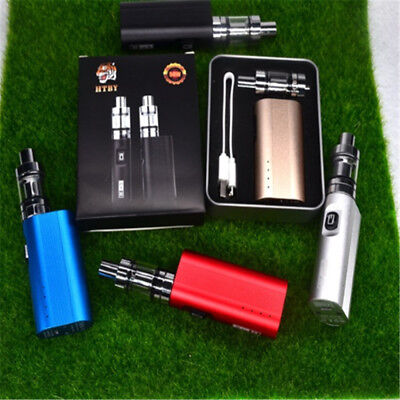 Electric Cigarette 50W E Cigarettes Vapor Kit Pen Usb Charger Vape-Box Starter