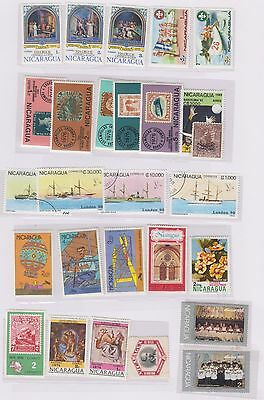 Nicaragua Selection Of Over 100 Different Stamps (Gd355)
