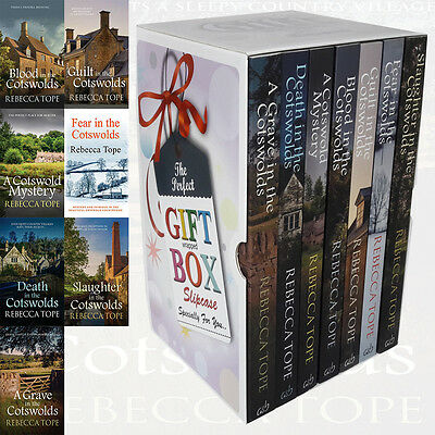 Cotswold Mysteries Series 7 Books Rebecca Tope Collection Gift Wrapped Slipcase