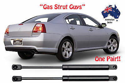 Gas Struts suit Mitsubishi 380 BOOT 2005 to 2008 New PAIR 380 DB LX SX VRX GT