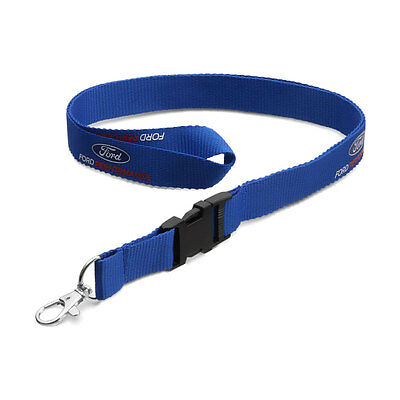 Genuine Ford Performance Lanyard In Blue 35021650