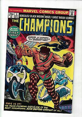 Marvel Comics THE CHAMPIONS # 1 Oct 1975 ORIGIN & 1st APPEARANCE - 25 CENTS