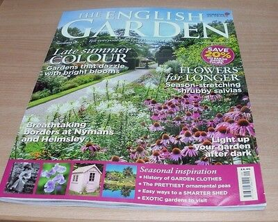 The English Garden magazine SEP 2017 Late Summer Colour, Borders, Smarter Shed &