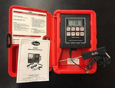 Cooper-Atkins SH66A Digital Temperature Instrument
