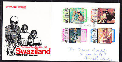 Swaziland 1979 Year of the Child First Day Cover..- addressed