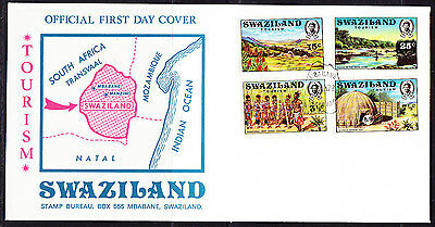 Swaziland 1972 Tourism  First Day Cover.- Unaddressed