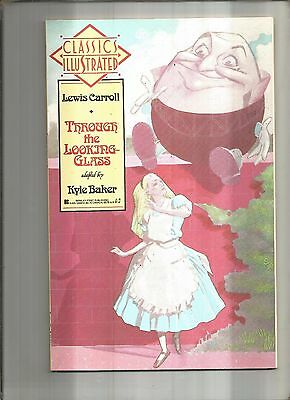 Classics Illustrated #3  Through The Looking Glass  First Publishing 1990 Nice!!