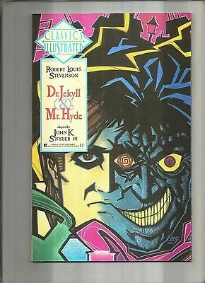 Classics Illustrated #8  Dr.jekyll & Mr. Hyde  First Publishing 1990 Nice!!
