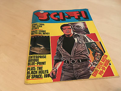 Tv Sci Fi Monthly Magazine - Issue 4 - Stra Trek - Doctor Who