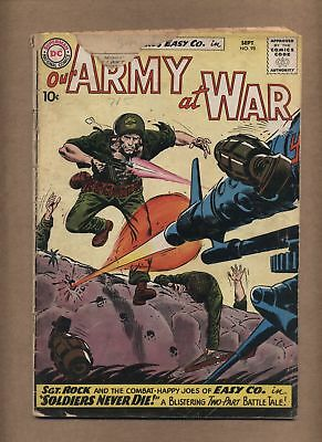 Our Army At War 98 (FR) Kubert cover/art; Silver Age; DC Comics; 1960 (c#15060)