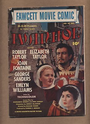 Fawcett Movie Comic 20 (GVG) Ivanhoe; Robert Taylor; Elizabeth Taylor (c#15052)